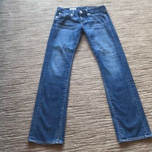 AG Tomboy Jeans Relaxed Straight Leg